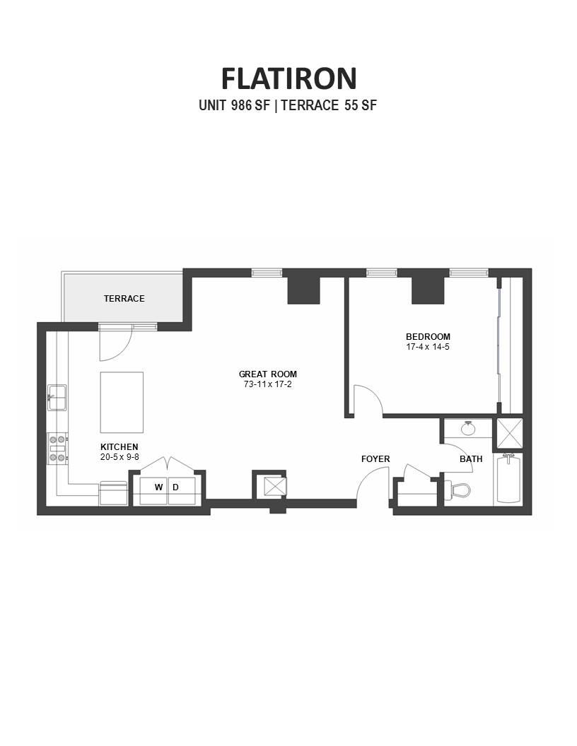 Flatiron ivy floor plans minneapolis for Mn home builders floor plans