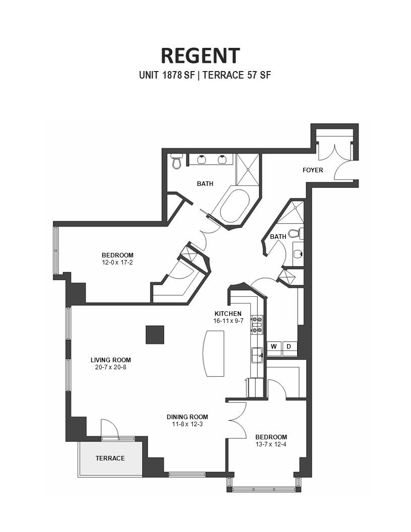 Regent ivy floor plans minneapolis Regent heights floor plan