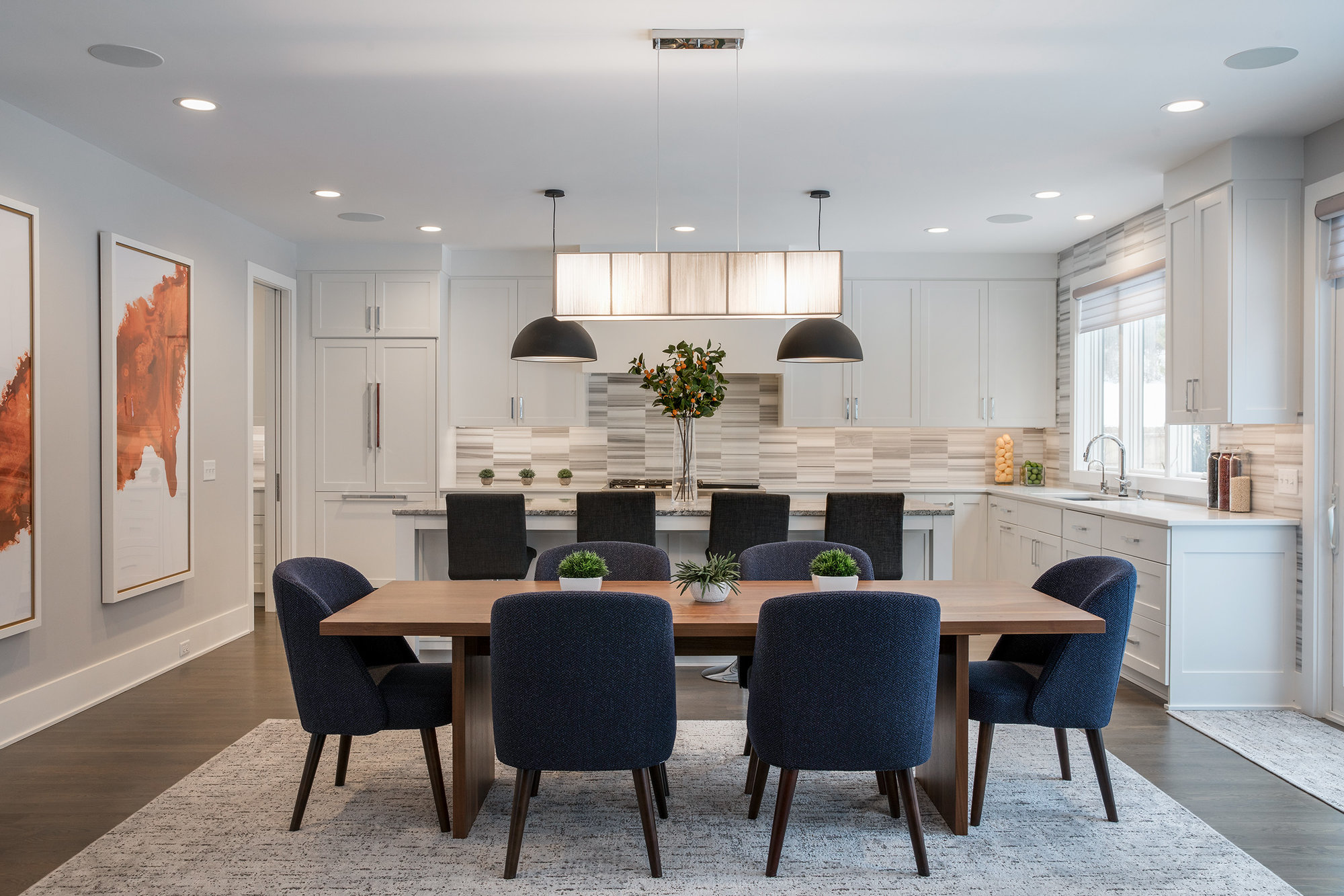 High end edina homes